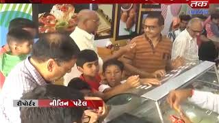 Sabarkantha : A Food Zone is opened by Saber Darya in Amul's Proks