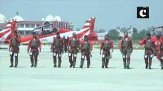 "IAF aerobatics team ""Surya Kiran"" holds air show in Vadodara"
