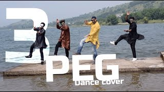 3 Peg Sharry Mann |  Bhangra | Dance Cover | kunal DFS | Latest Punjabi