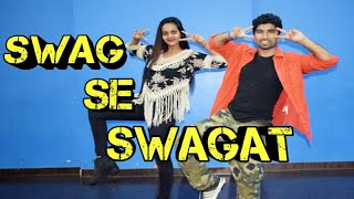 Swag se swagat Bollywood dance cover | tiger zinda hai | Salman khan |kunal More | ft.shweta |DFS