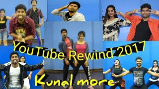 Youtube rewind 2017 best bollywood dance cover Kunal more | DFS |