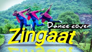 Zingaat Hindi | Dhadak | Dance | Ajay-Atul | Ishaan & Janhvi | KUNAL MORE | DFS