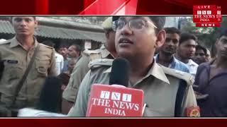 Varanasi ]वाराणसी में ट्रैक्टर और बाइक की टक्कर में मौत, एक गंभीर रूप से घायल, लोगों ने किया हंगामा