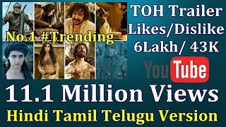 Thugs Of Hindostan Trailer Record Breaking Views In 12 Hours On Youtube I Hindi Tamil Telugu