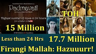 Thugs Of Hindostan Beats Padmaavat Highest Views Record In Less Than 24 Hours On Youtube