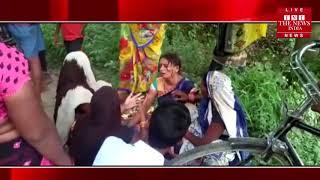[ Mau ] मऊ में 70 वर्षीय लापता एक वृद्ध का शव मिलने से क्षेत्र में सनसनी फैली / THE NEWS INDIA