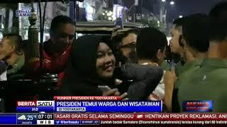Jokowi dan Iriana Naik Andong Temui Warga di Malioboro