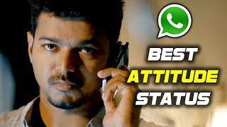 Whatsapp Best Attitude Status - 2018 Whatsapp Best Attitude Status - Bhavani HD Movies