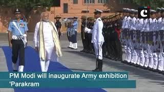 PM Modi arrives in Jodhpur to inaugurate Army exhibition 'Parakram Parv'
