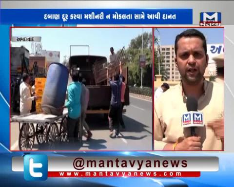Ahmedabad: Round 2 started of Removing illegal Encroachment