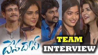 Lakshmi Manchi Interview with DevDas Team | Devdas Team Interview With Laxmi Manchu