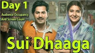 Sui Dhaaga Movie Audience Occupancy And Screen Count Day 1