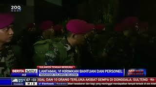Lantamal VI Makassar Kirim Satgas Bantuan Korban Gempa Palu