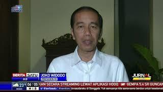 Jokowi Sampaikan Duka Cita atas Bencana Gempa di Donggala