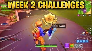 FORTNITE WEEK 2 CHALLENGES LEAKED! WEEK 2 GUIDE TO ALL CHALLENGES IN FORTNITE SEASON 6!