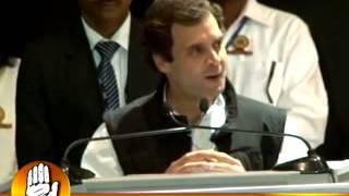 Congress Vice-President Rahul Gandhi speaks on 'Organisation' at the Jaipur Chintan Shivir