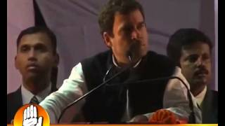 Rahul Gandhi Addressing A Public Rally at Ballia, UP - January 9, 2012