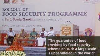 Smt Sonia Gandhi Speaks on Food Security Bill, 20 August, 2013