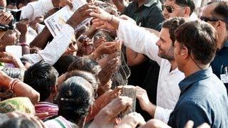 Rahul Gandhi in Baran, Rajasthan on Sep 17, 2013