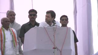 In 2009, during drought in Bundelkhand, we waived farm loans all across India: Rahul Gandhi