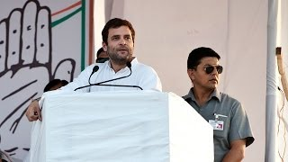 Rahul Gandhi in Bikaner, Rajasthan