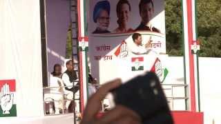 Rahul Gandhi in Jodhpur, Rajasthan on Nov 25, 2013