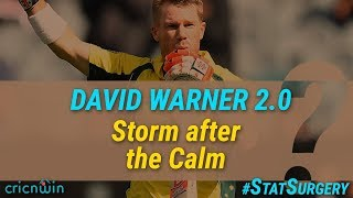 StatSurgery : David Warner 2.0