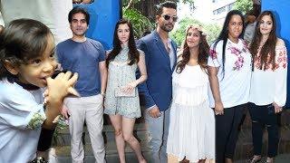 Salman Khans Family At Neha Dhupia's Baby Shower   Arpita, Ahil, Alvira, Sohail, Arbaaz, Giorgia