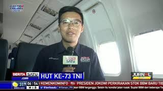 Kirab Bendera HUT TNI ke-73 Tiba di Surabaya