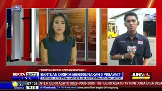 3 Pesawat Berisi Bantuan Logistik untuk Korban Sulteng Diterbangkan