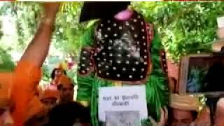 श्रीराम मन्दिर को गिराने वाले मीरबाकी प्रतीक को बाबर के वंशज की मौजूदगी में सुरेश जी ने दी फांसी