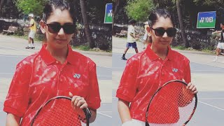 Niti Taylor Playing Tennis - Tennis Premier League 2018 - Timber Wolves Team