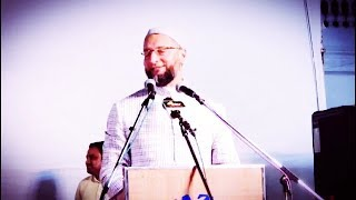 Asaduddin Owaisi Great Speech On Triple Talaq At Jalsa @ Darusslam | @ SACH NEWS |