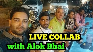 LIVE COLLAB WITH ALOK BHAI FROM TECHY DOST
