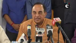 Sushma Swaraj shouldn't waste her breath speaking about Pak at UN: Subramanian Swamy