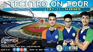 TOT KOLKATA #VLOG1 || AFC U16 CHAMPIONSHIP || LUCKNOW TO KOLKATA