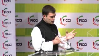 Rahul Gandhi's Q&A Session At FICCI's 86th AGM, New Delhi, Dec. 21, 2013