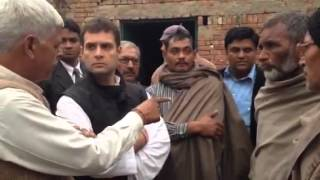 Rahul Gandhi meets victims of Muzaffarnagar riots, Dec 23, 2013