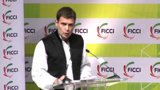 Rahul Gandhi during his address at FICCI said that societies cannot be built on injustice and hatred
