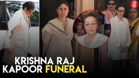 Alia Bhatt, Kareena Kapoor Khan, Amitabh Bachchan & Others Pay Their Respect To Krishna Raj Kapoor!