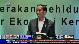 Presiden Jokowi Hadiri Jambore Nasional ke-46 PKK