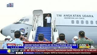 Jokowi kembali Bertolak ke Palu