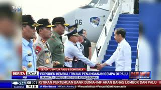 Jokowi kembali ke Palu, Tinjau Langsung Penanganan Bencana