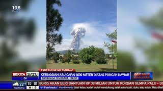 Gunung Soputan di Minahasa Tenggara Erupsi Rabu Pagi