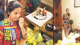 Hina Khan Gets Lots Of Gift From Fans And Friends On Her Birthday