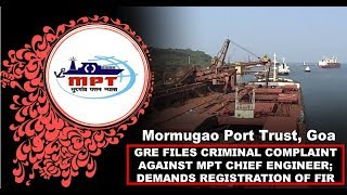 GRE files criminal complaint against MPT chief engineer; Demands registration of FIR