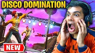 FORTNITE DISCO DOMINATION LTM GAMEMODE - DANCE AND WIN IN FORTNITE SEASON 6 (Fortnite Battle Royale)