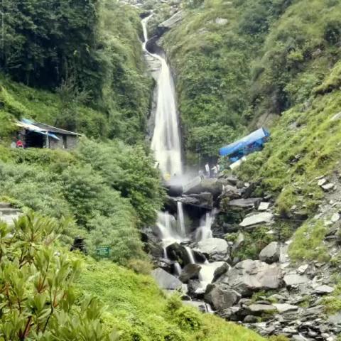 Bhagsu Waterfalls | Dharamshala