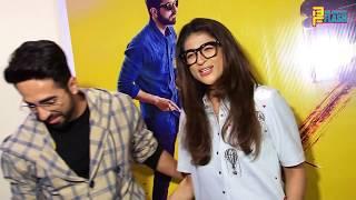 Andhadhun Movie Special Screening - Ayushmann Khurrana,Bhumi Pednekar,Aparshakti,Tahira