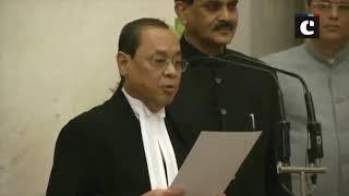 Justice Ranjan Gogoi sworn in as CJI